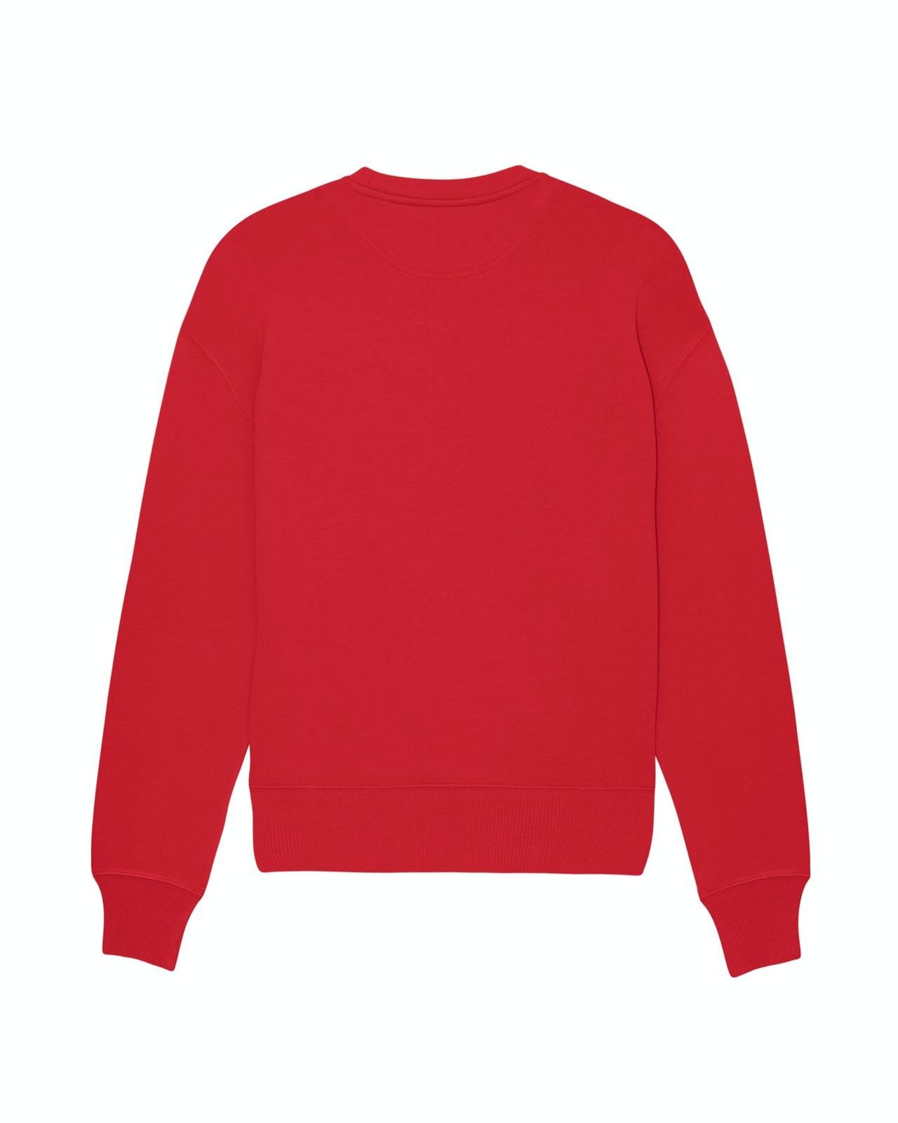 GOAT Apperal Goat Bobby Unisex Oversized Sweat Red