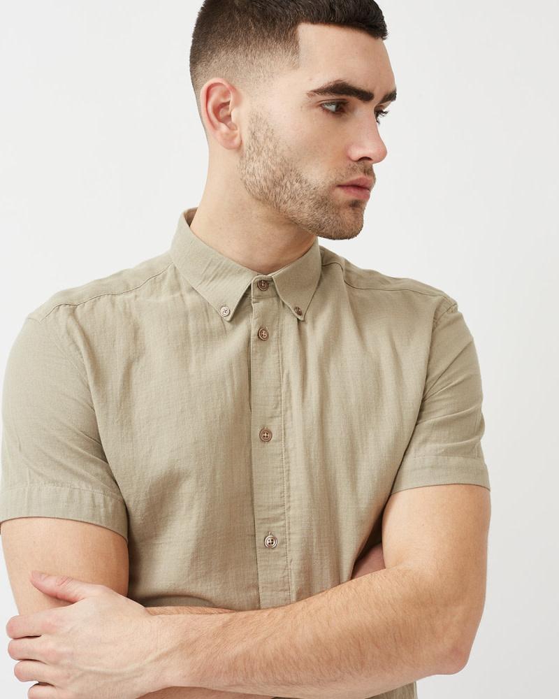 Minimum Minimum Aleksander 8011 Shirt Seneca Rock Brown