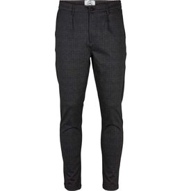 Kronstadt Kronstadt Club Texture Check Pant Grey/Black