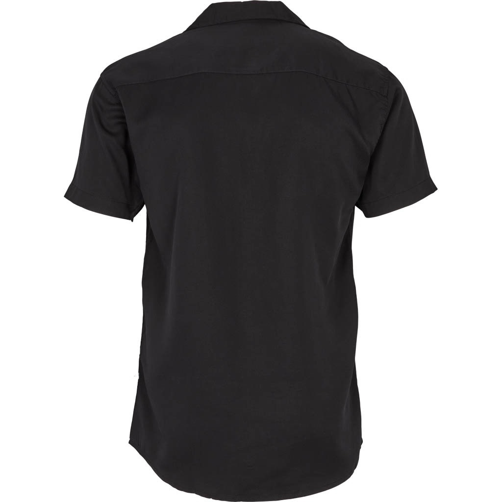 Kronstadt Kronstadt Cuba Tencel S/S Shirt Black