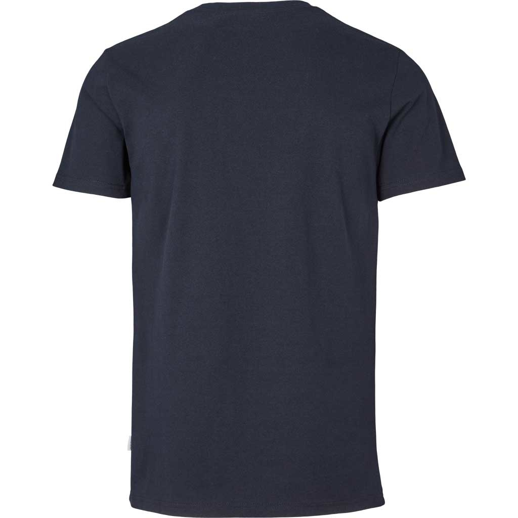 Kronstadt Kronstadt Timmi Embroidery Recycled Cotton Knife Tee Navy