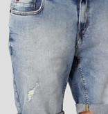 Clean Cut Clean Cut Chris Stretch 3002 Denim Short Light Blue Denim