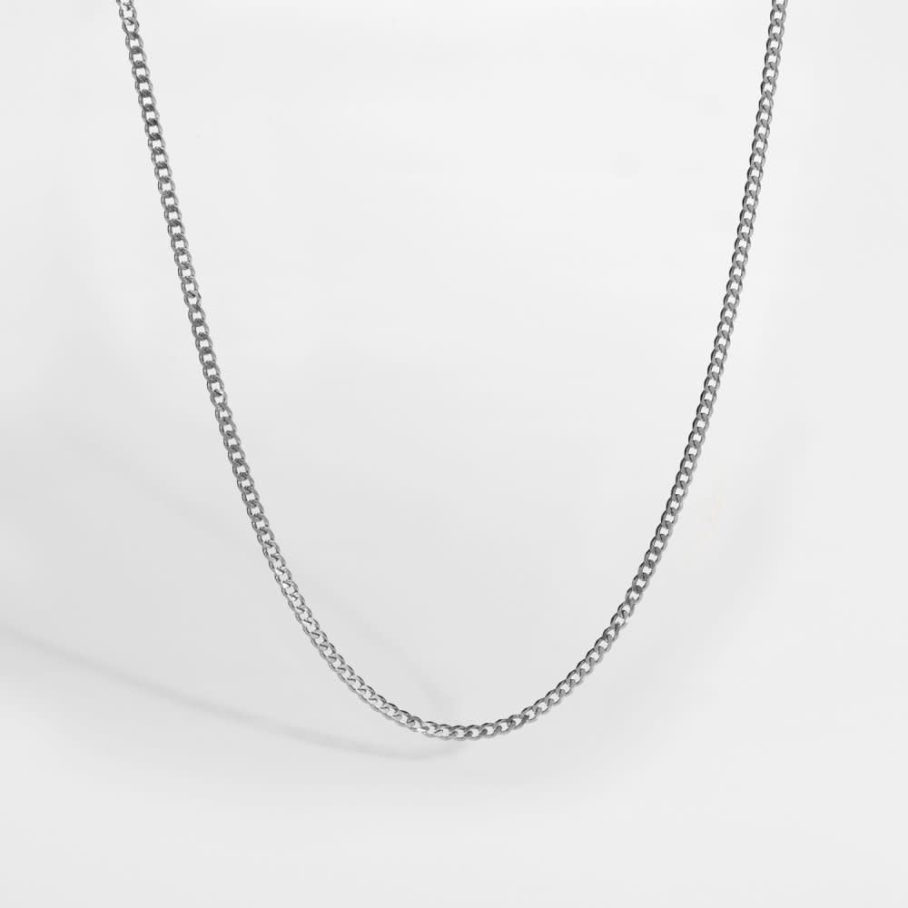 Northern Legacy Northern Legacy Minimal Sequence Silver Tone Necklace