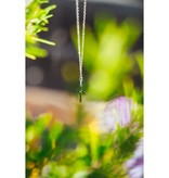 Northern Legacy Northern Legacy Cross Chain Silver Tone Necklace