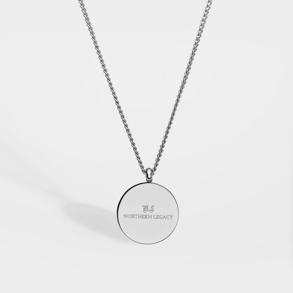 Northern Legacy Northern Legacy Verde Antique Pendant Silver Tone Necklace