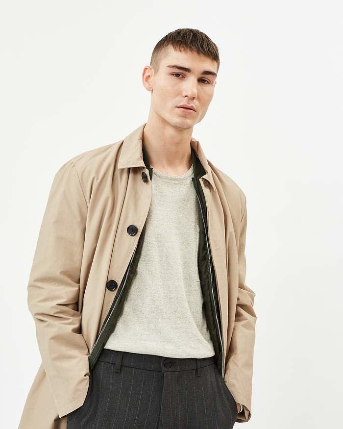 Minimum Minimum Hector Trench Coat Khaki
