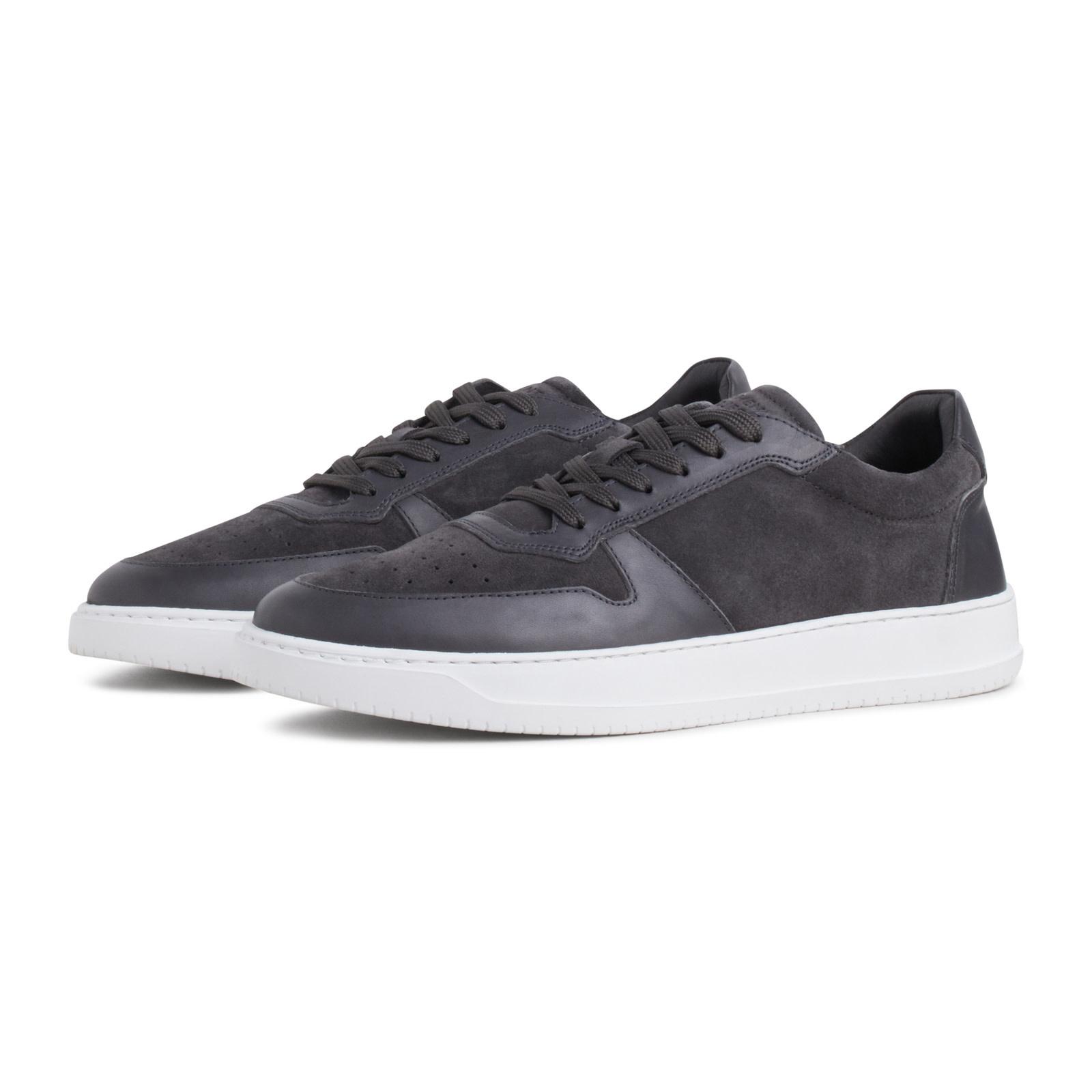 Garment Project Garment Project Legacy Leather Sneaker Dark Grey