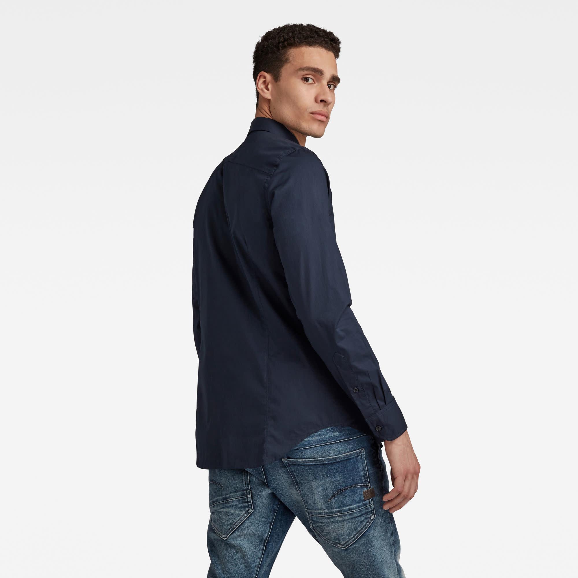 G-Star G-Star Dressed Super Slim Shirt L/S Mazarine Blue