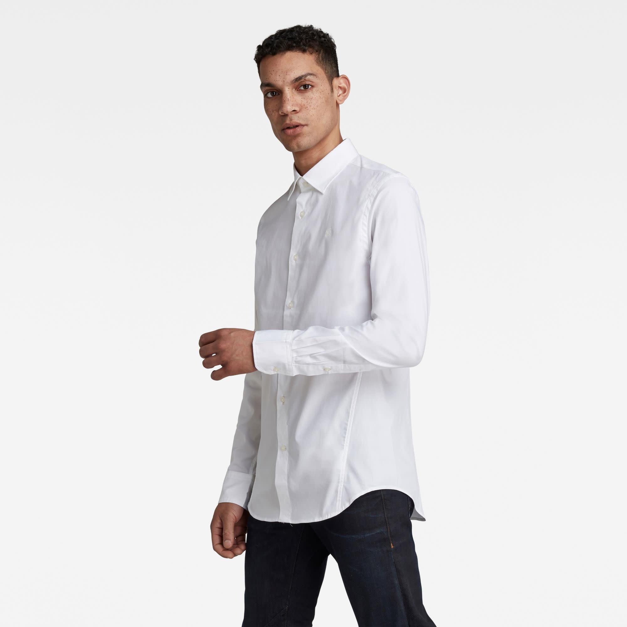 G-Star G-Star Dressed Super Slim Shirt L/S White