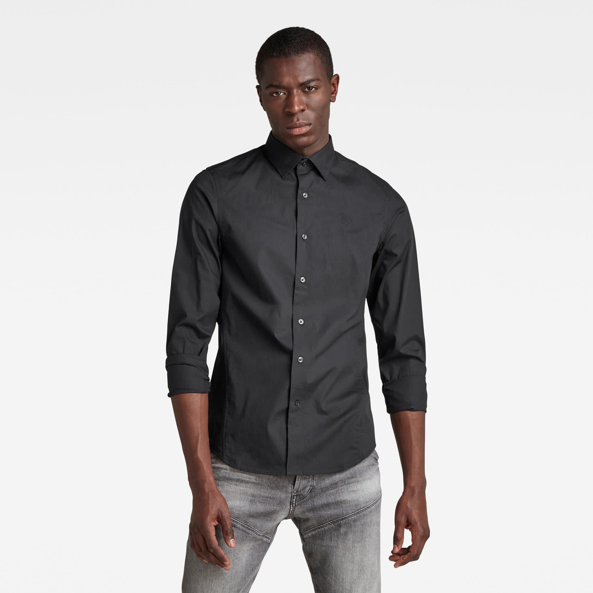 G-Star G-Star Dressed Super Slim Shirt L/S Black