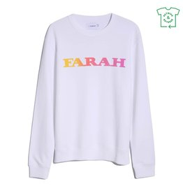 Farah Farah Palm Sweat White