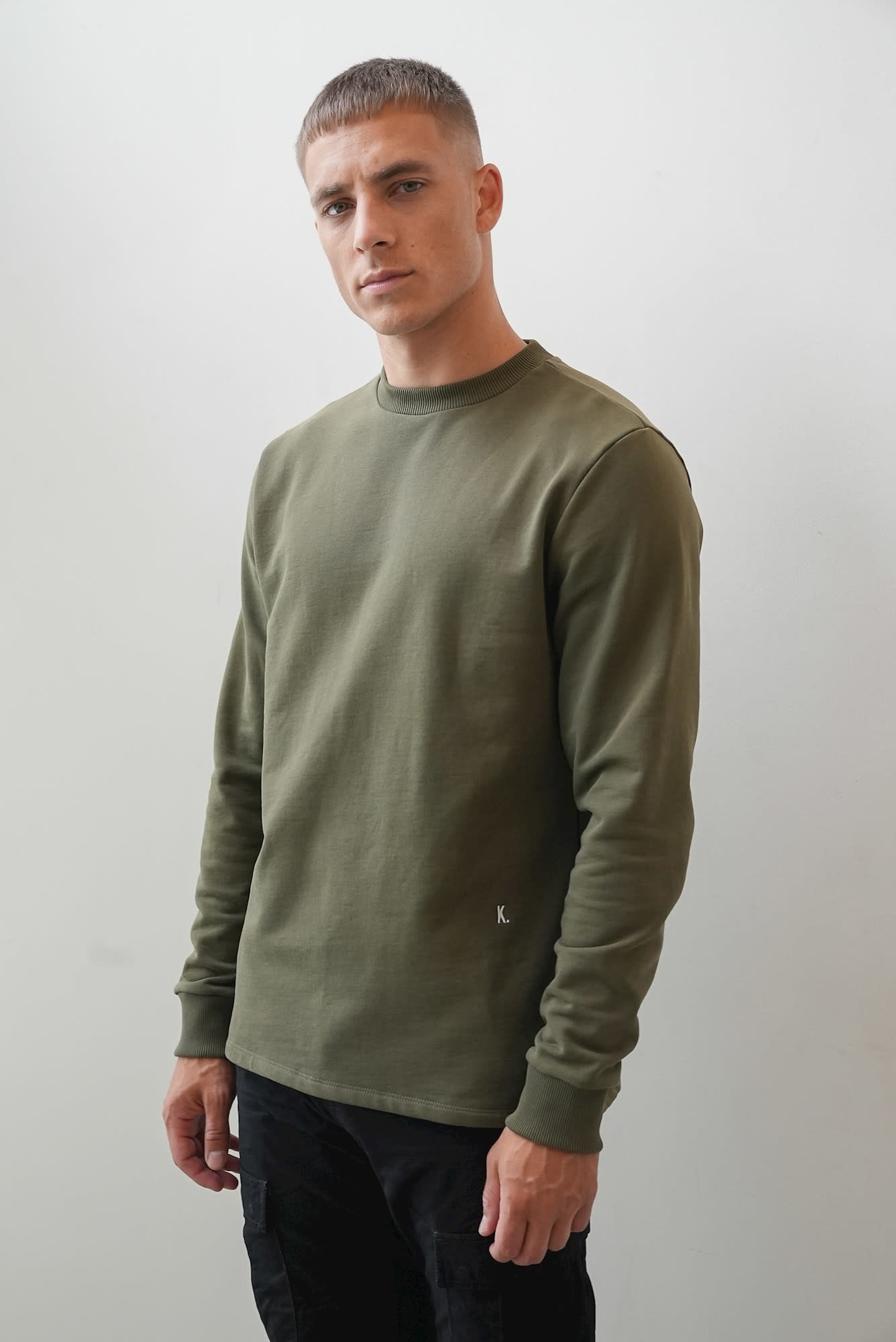 Kultivate Kultivate Jack Sweat Army Green