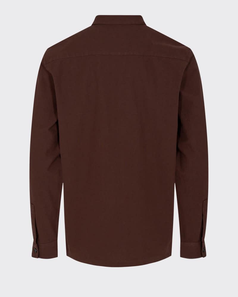 Minimum Minimum Sivas 9130 Shirt Cofee Bean