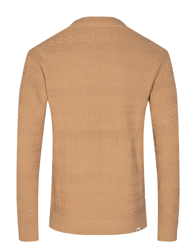 Anerkjendt Anerkjendt Aksune Jacquard Knit 900356 Incense Brown