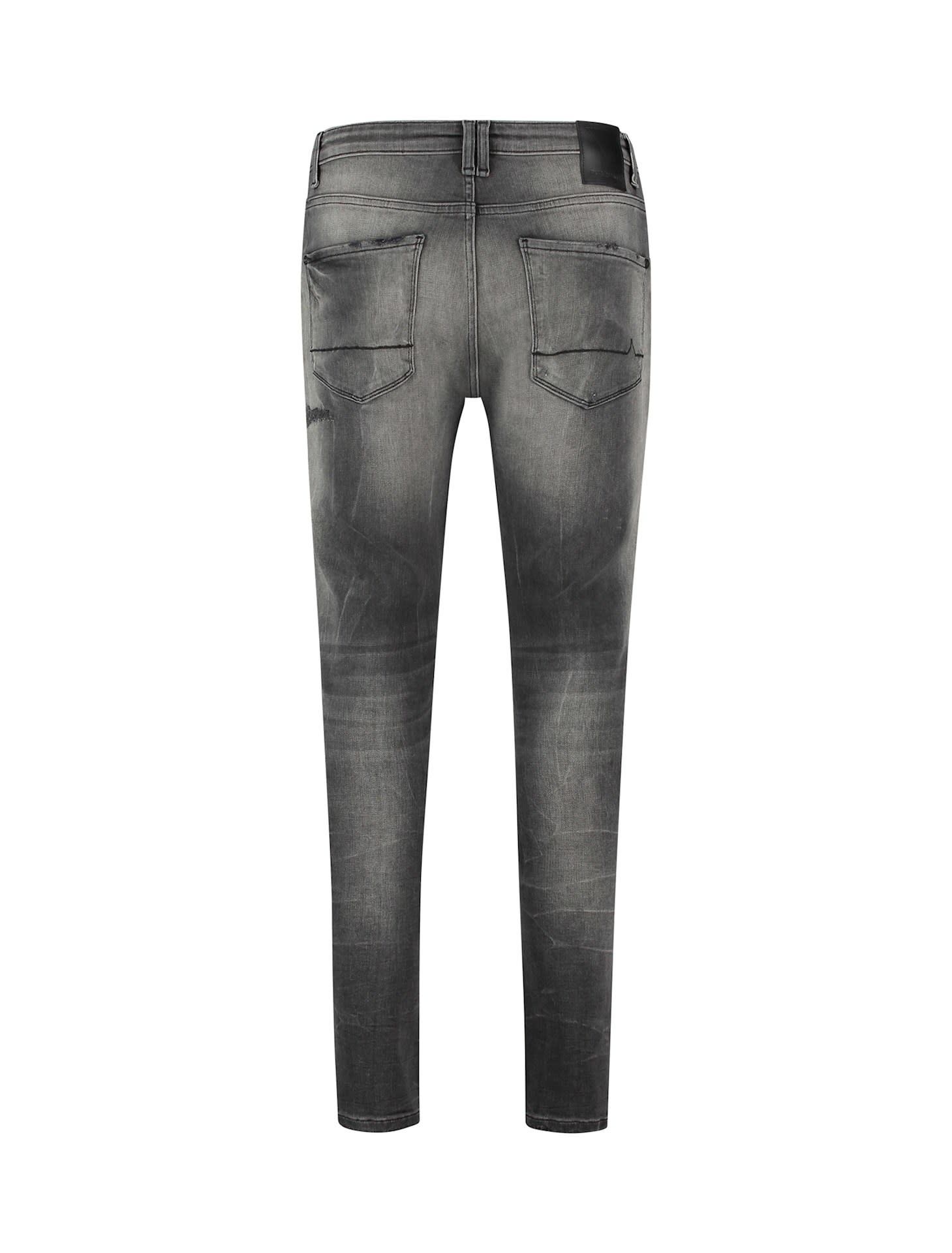 Purewhite Pure White The Dylan W0708 Jeans Mid Grey