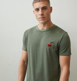 Kultivate Kultivate Chop Tee Thyme Green