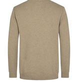 Minimum Minimum Benner Jumper 9155 Knit Melange Seneca Rock Brown