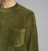 Anerkjendt Anerkjendt AkArthur Corduroy Sweat 900392 Cypress Green