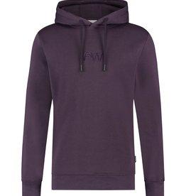Purewhite Pure White 21030305 Hooded Sweat Purple