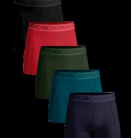 Muchachomalo Muchachomalo LCSOLID1010-37 5-Pack Multi