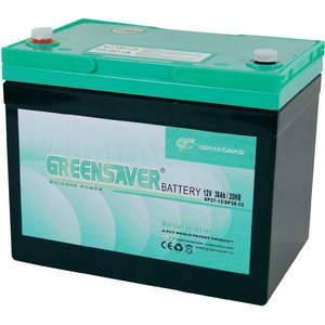Comodo Vervangingsset batterijen Greensaver SP27-12