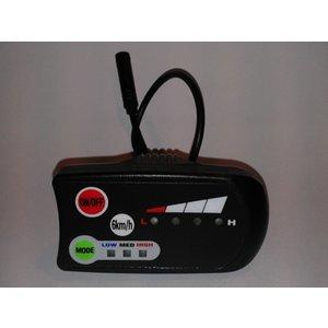Display 6 km/h functie voor Panasonic set