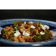 Glutenvrije Gnocchi met broccoli en saucijsjes