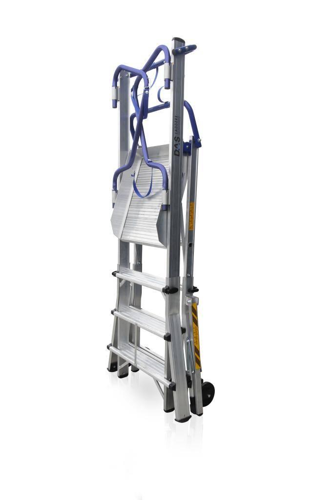 Das Ladders Das Apollo telescopisch werkplatform 4-6 treden