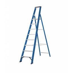 Das Ladders Das Hercules blue escabeau 8 marches