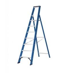 Das Ladders Das Hercules blue trapladder 7 treden