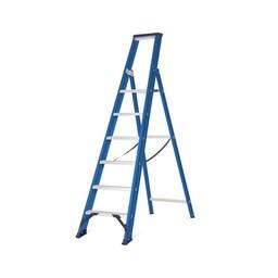Das Ladders Das Hercules blue Aluminium-Stehleiter 6 Stufen