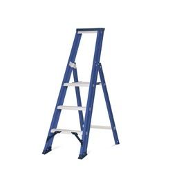 Das Ladders Das Hercules blue Aluminium-Stehleiter 3 Stufen