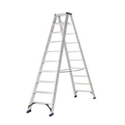 Das Ladders Das Hercules ano Stehleiter beidseitig begehbar 2 x 10 Sprossen