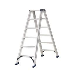 Das Ladders Das Hercules ano Stehleiter beidseitig begehbar 2 x 6 Sprossen