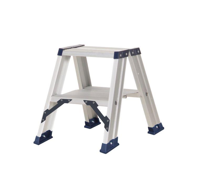 Das Ladders Das Hercules ano dubbele trap 2 x 2 treden