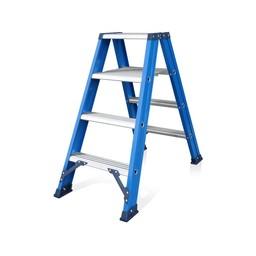 Das Ladders Das Hercules blue Doppel-Klapptritt 2x4 Stufen