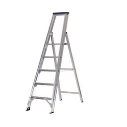 Das Ladders Das Premium Stufen-Stehleiter 5 Stufen