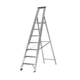 Das Ladders Das Premium Stufen-Stehleiter 7 Stufen
