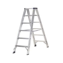 Das Ladders Das Premium Stehleiter beidseitig begehbar 6 Sprossen