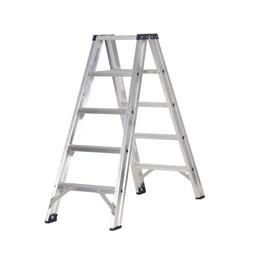Das Ladders Das Premium Stehleiter beidseitig begehbar 5 Sprossen