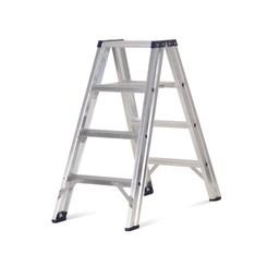 Das Ladders Das Premium Stehleiter beidseitig begehbar 4 Sprossen