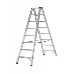 Das Ladders Das Premium Stehleiter beidseitig begehbar 8 Sprossen