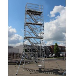 ASC Treppenturm 135-250 x 10 m Arbeitshöhe