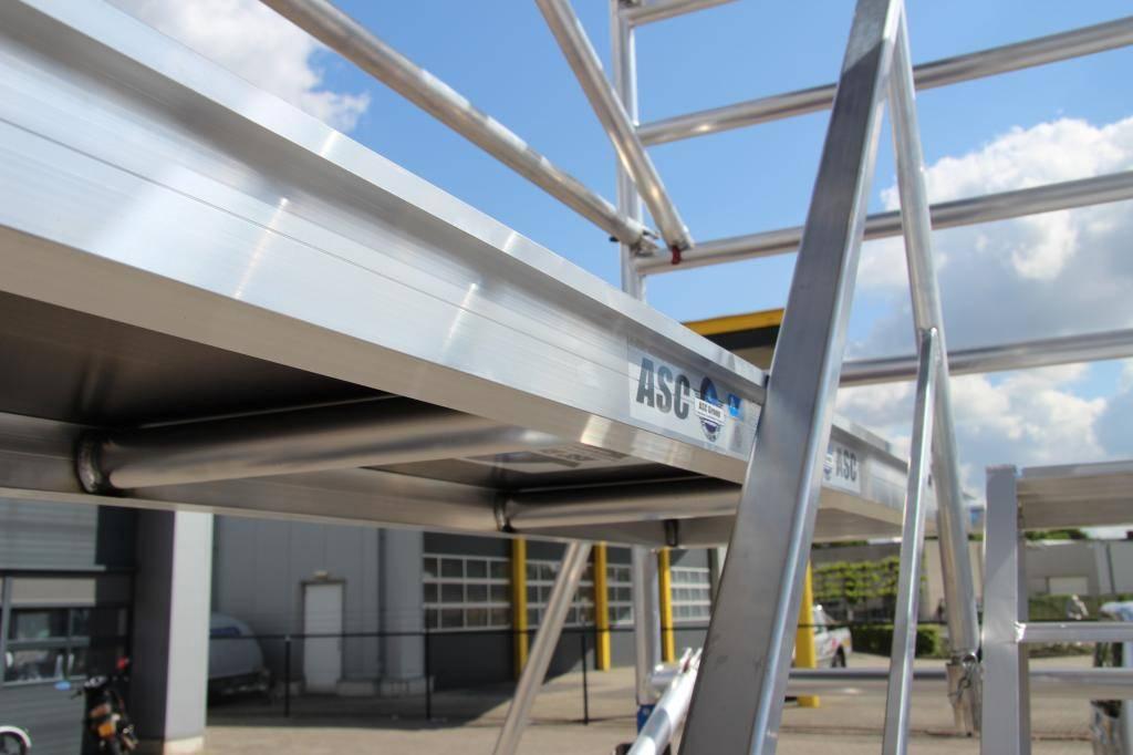 ASC Trappentoren 135 x 250 x 8 m werkhoogte