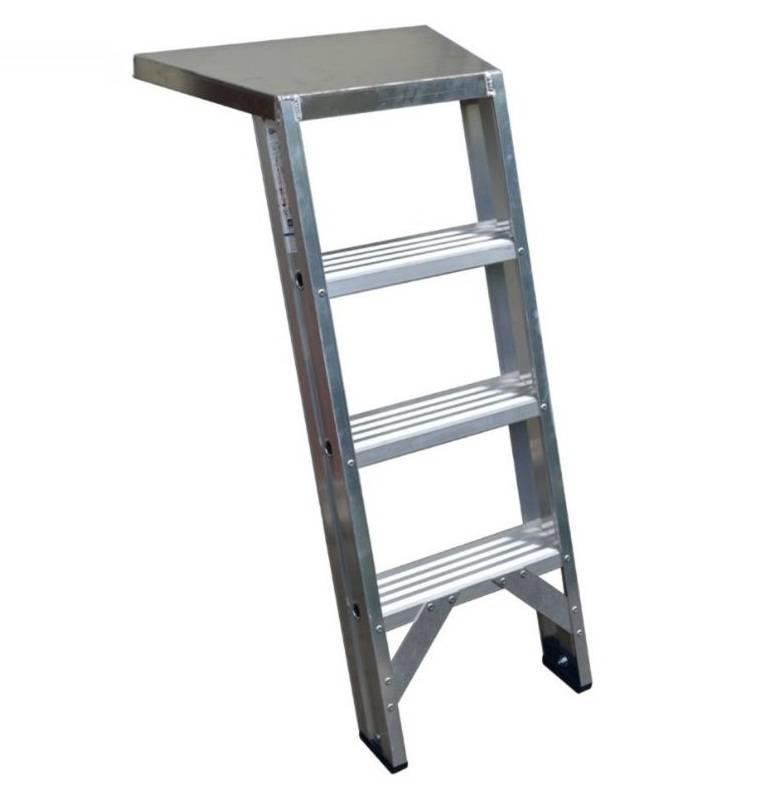 Das Ladders Trittleiter für Fuger 4 Stufen