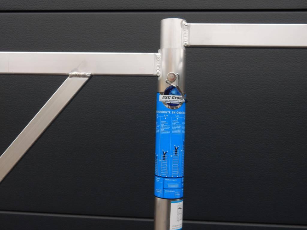 Alumexx Basic-Line kamersteiger werkhoogte 3 m