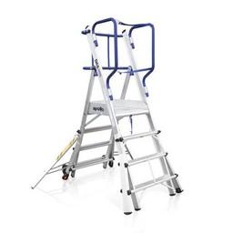 Das Ladders Das Apollo telescopisch werkplatform 6-8 treden