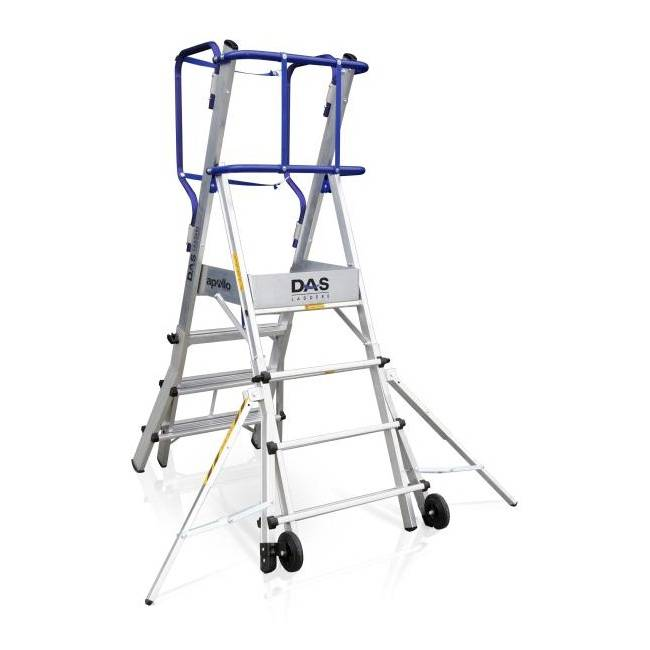 Das Ladders Das Apollo telescopisch werkplatform 5-7 treden