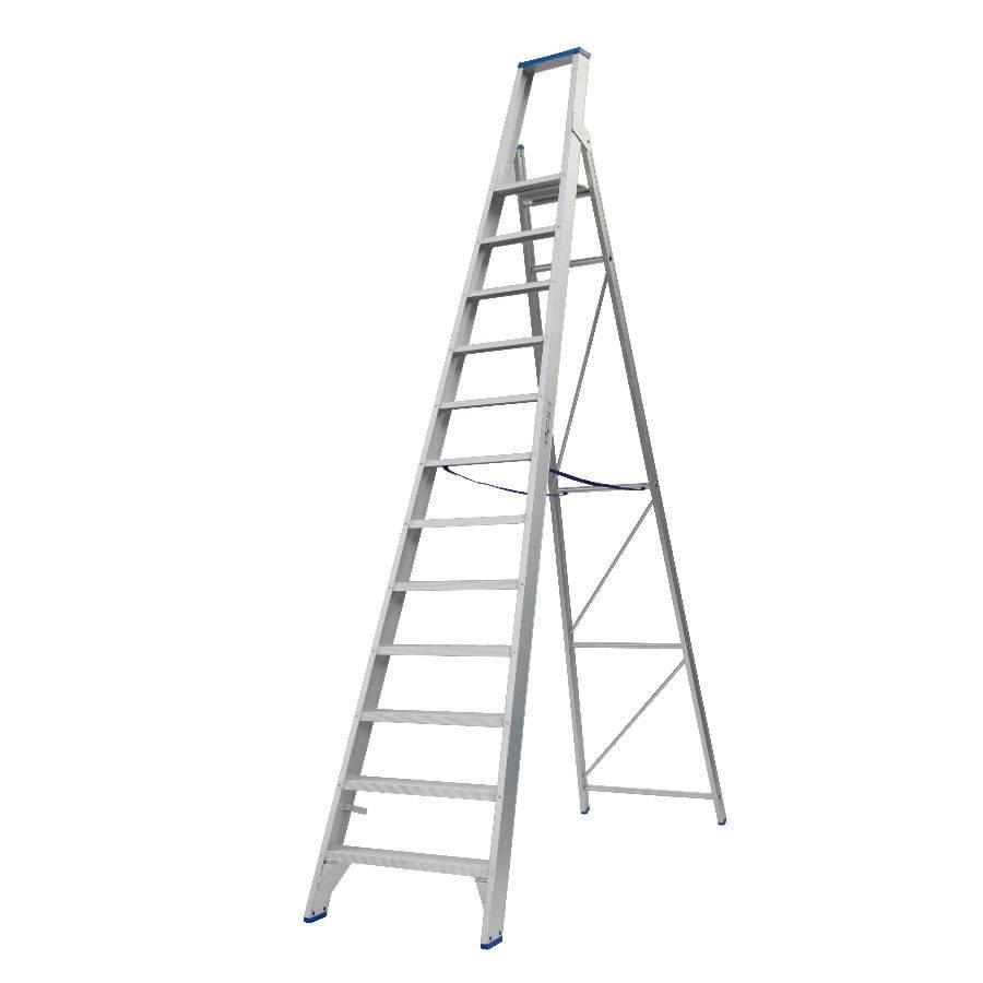 Solide Solide Stufen-Stehleiter 12 Stufen PT12