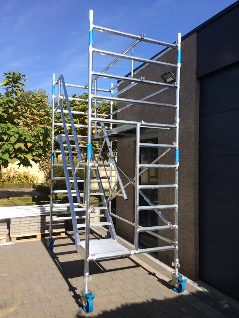 ASC Trappentoren 135 x 250 x 4 m werkhoogte